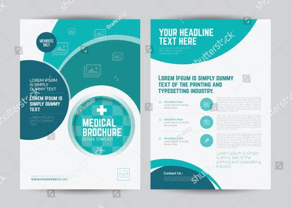 Medical Center Booklet Brochure Template