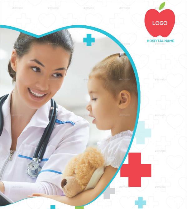 Medical Healthcare Tri-Fold Brochure Template