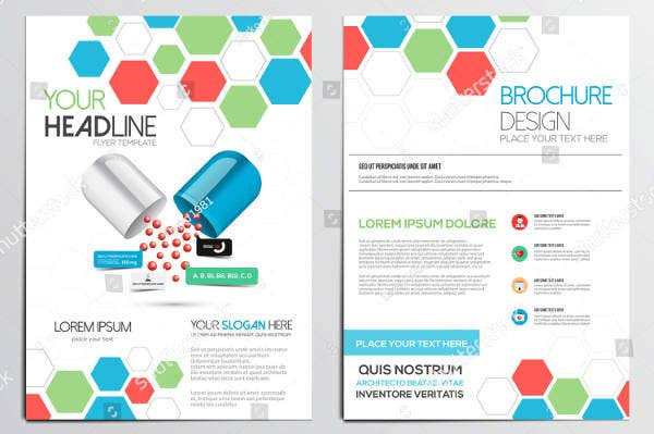 Medical Institute Tri-Fold Brochure Template