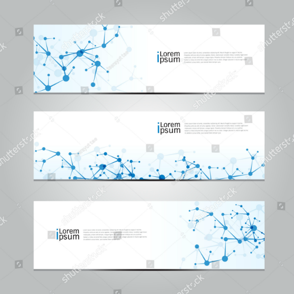 Medical Network Technology Banner Template