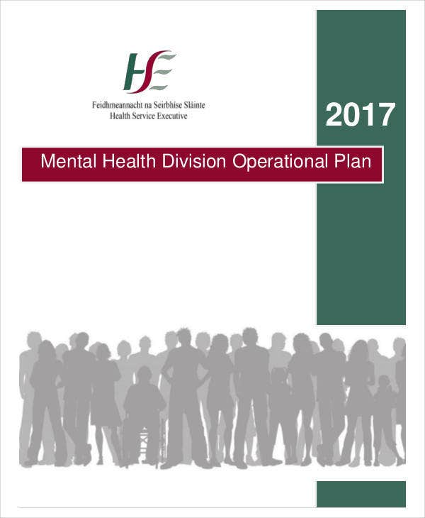 Mental Health Division Operational Plan