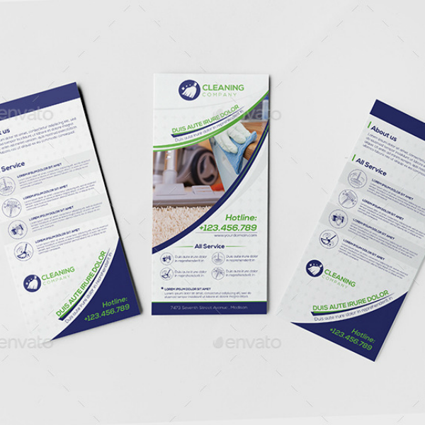 Minimal Cleaning Service Company Bundled Templates