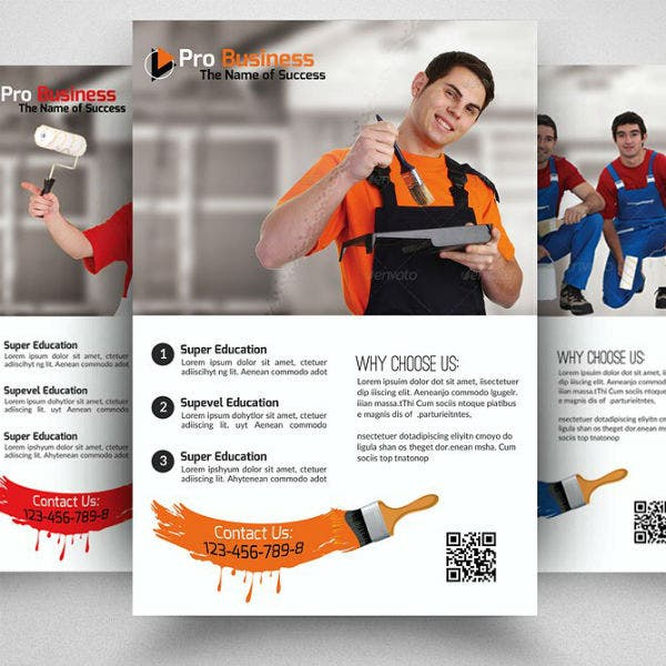 minimalist-house-paint-contractor-flyer-template