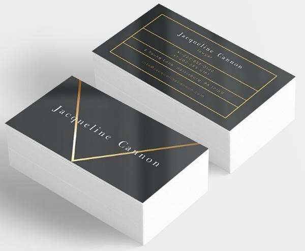 Minimalist Lawyer Business Card Template