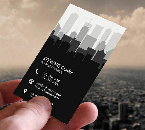 Minimalist Real Estate Business Card
