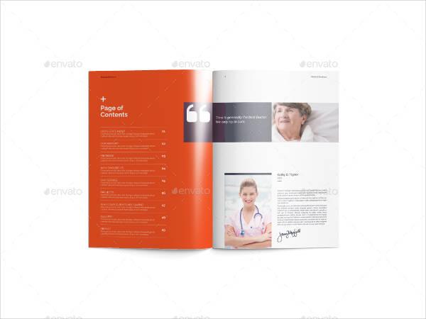 Modern Medical Center Brochure Template
