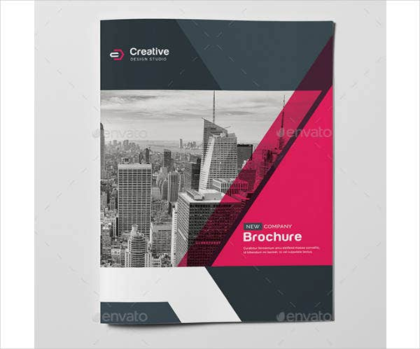 modern recruiter brochure template