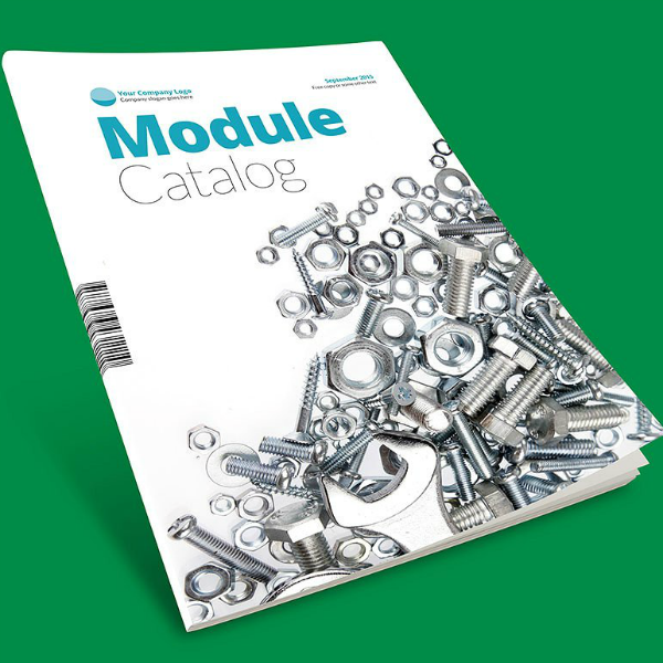 Module Products Catalog Brochure Template
