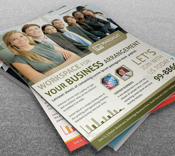 Multi-Purpose Business Management Flyer Template