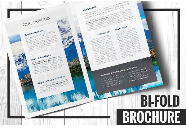 Multipurpose Attorney Bi-fold Brochure Template