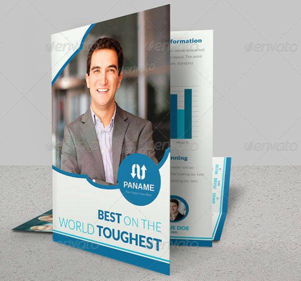 multipurpose employment agency brochure