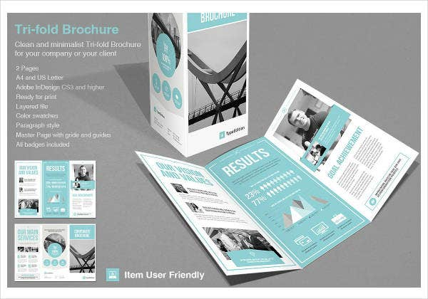 multipurpose minimal tri fold corporate brochure1