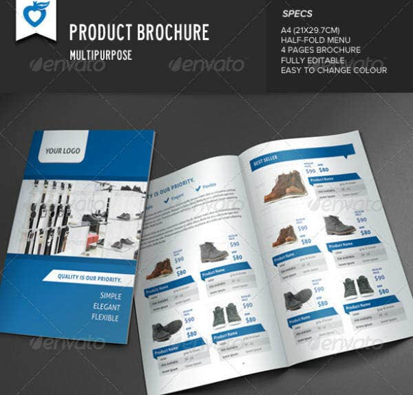 Multipurpose Product Brochure Example