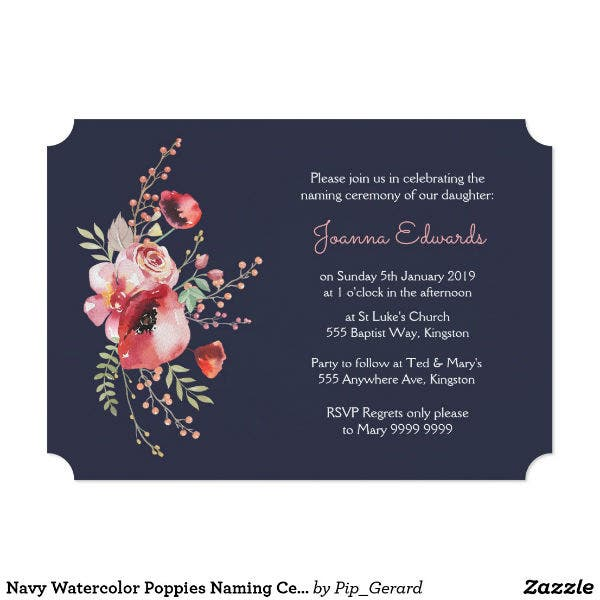 navy-watercolor-naming-ceremony-invitation-card-template