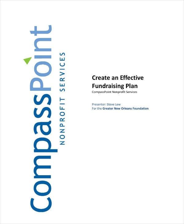 Non-Profit Services Fundraising Plan