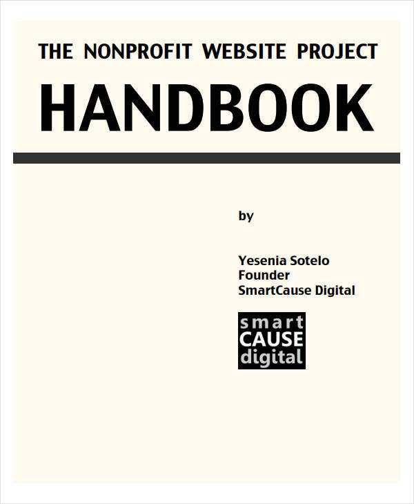 non profit website project plan