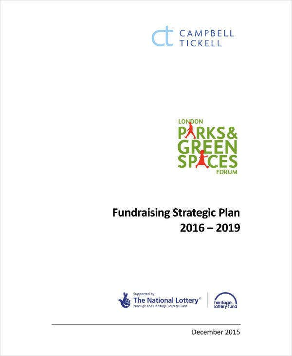Nonprofit Fundraising Strategic Plan