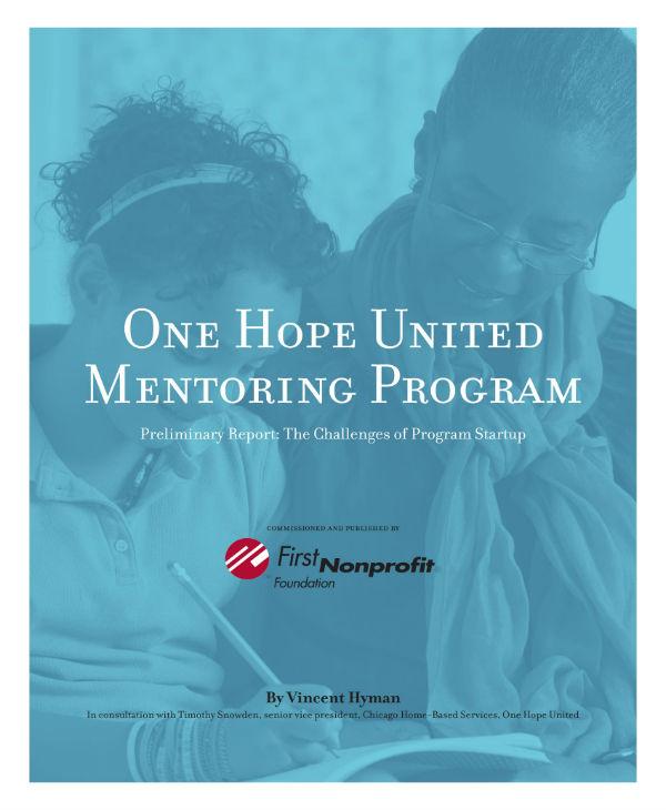 nonprofit mentoring program plan 01