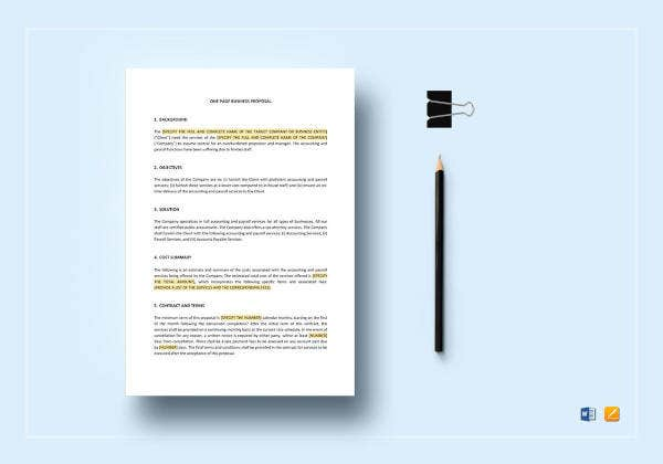 one-page-business-proposal-template