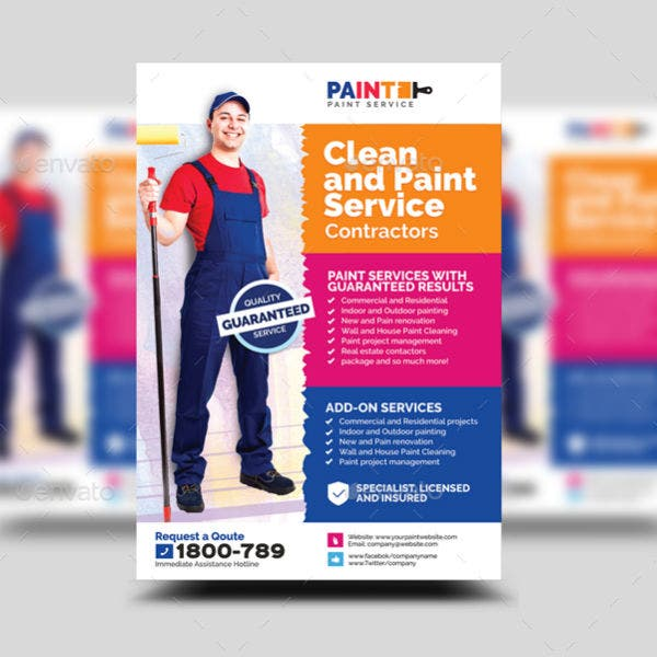 paint-service-and-maintenance-contractor-flyer-template