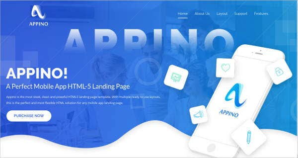 Perfect Mobile App Coming Soon Landing Theme