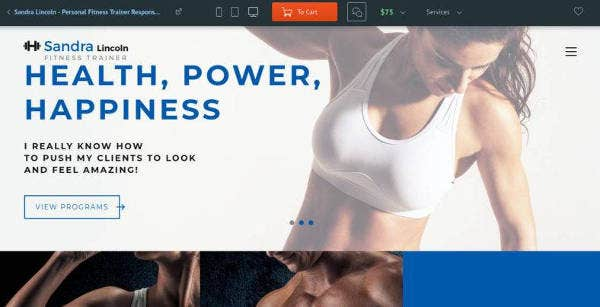 personal-fitness-trainer-website-template