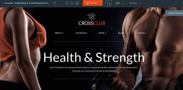 personal-fitness-website-template