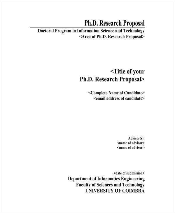 PhD Research Project Proposal