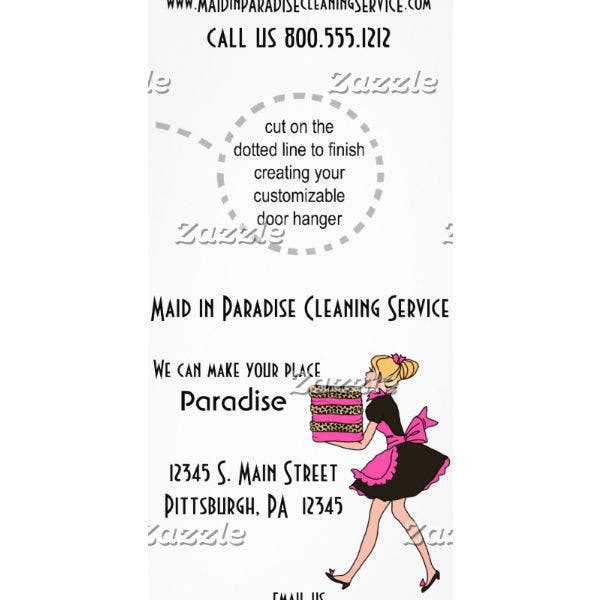 pink-paradise-cleaning-service-rack-card