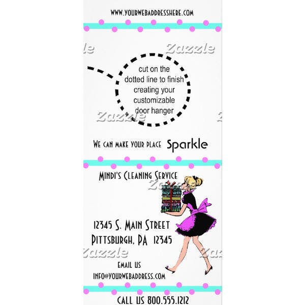 polka-dot-cleaning-service-rack-card