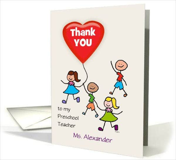 preschool-teacher-thank-you-kids