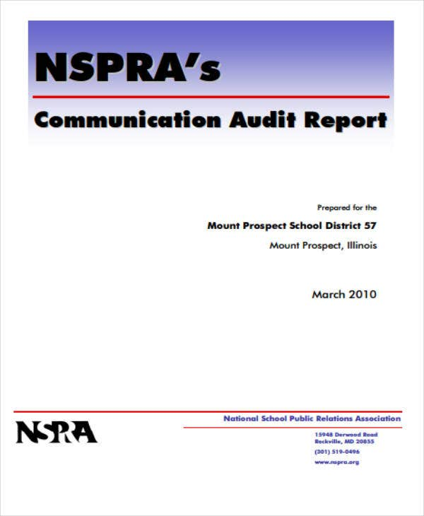 printable communication audit report1