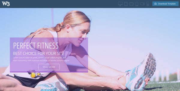 printable-gym-fitness-website-template