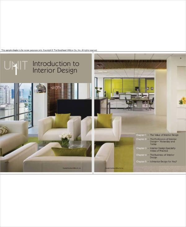 printable interior design business plan