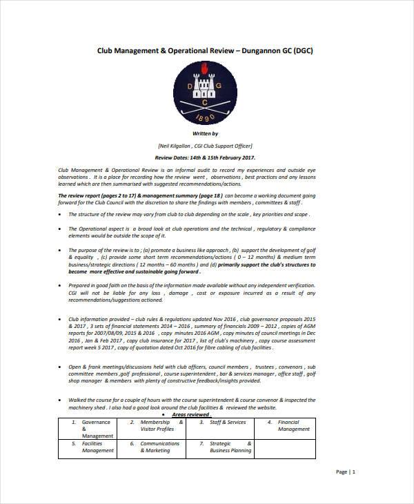 printable restaurant operational plan
