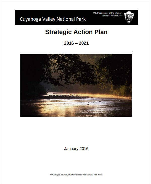 printable strategic action plan