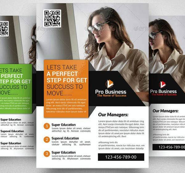 Professional Accounting Firm Flyer Template