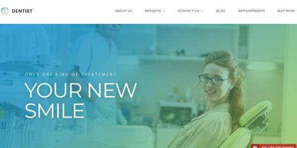 professional-dental-clinic-website-template