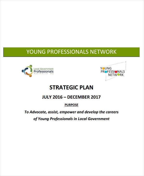 professional network strategic plan