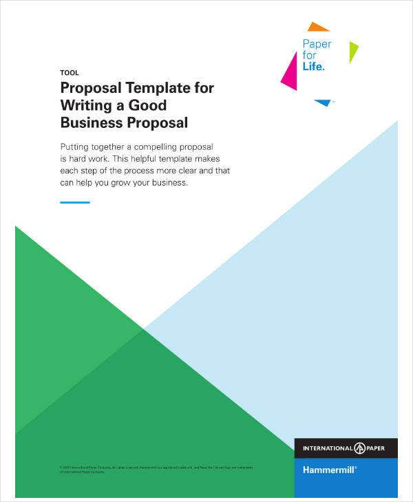 Proposal Template for Good Business