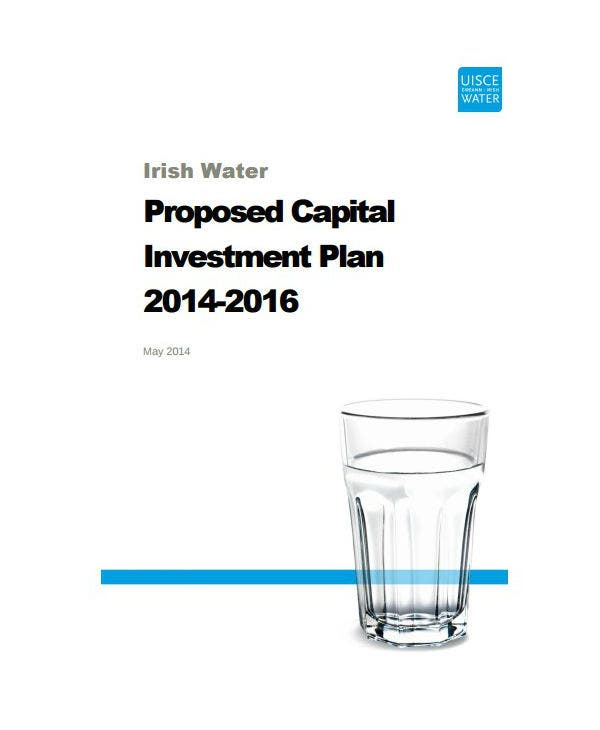 proposed capital investment plan proposal template