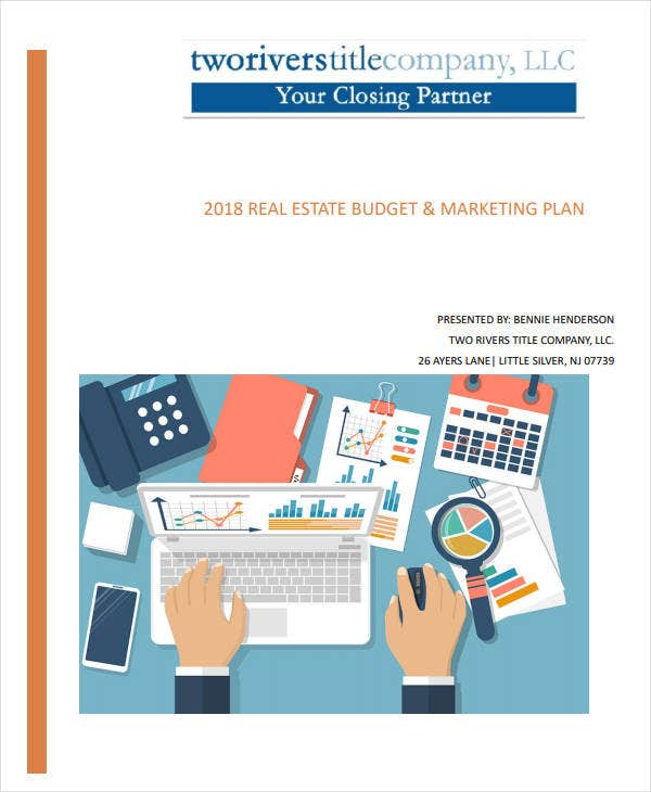 real estate budget marketing plan2