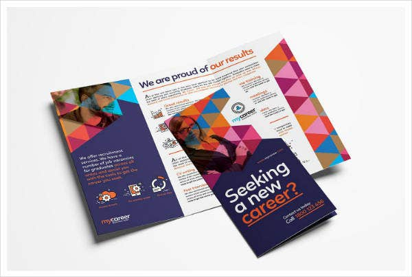 recruitment agency tri fold brochure