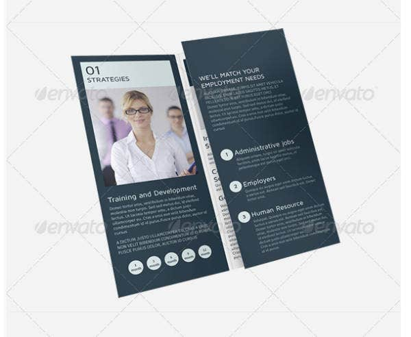 Recruitment Services Trifold Brochure