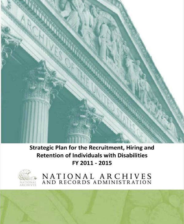 Recruitment Strategic Plan for Individuals