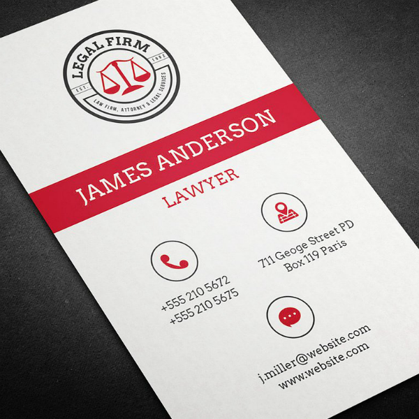 11 lawyer business card designs amp templates psd ai