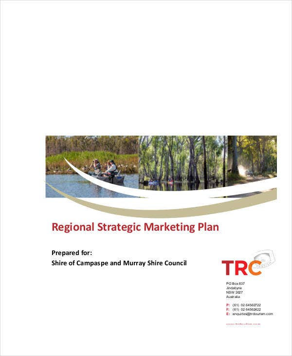 regional strategic marketing plan