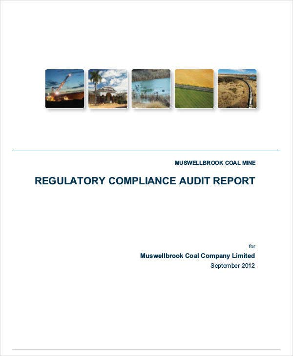 regulatory compliance audit report