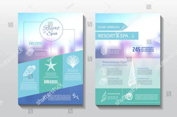 Resort Spa Treatment Flyer Template