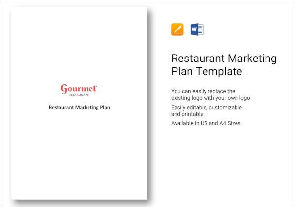 Restaurant Marketing Plan Template